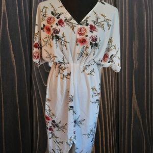 ⭐Yoins long flowy floral dress